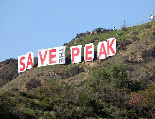 save the peak