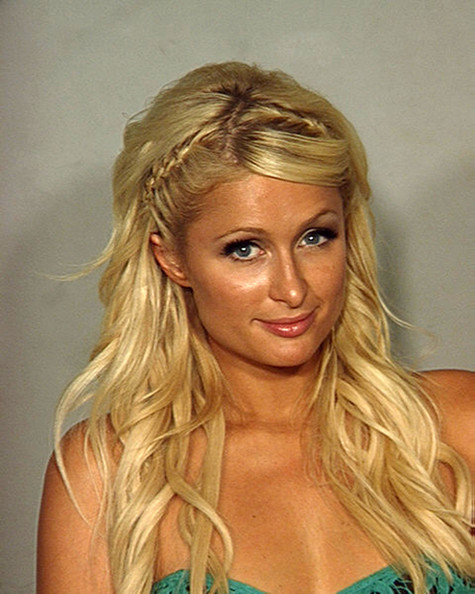 Paris Hilton Mug Shot
